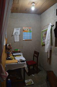 Licht in de consultatie kamer